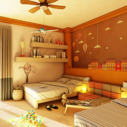 Kids Bedroom Interior Design - Cairo