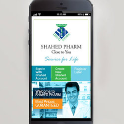 Shahed Mobile App ( Screens )