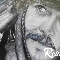portrait : Jack Sparrow
