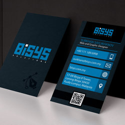 Bisys Solutions (Graphic design, Business card)