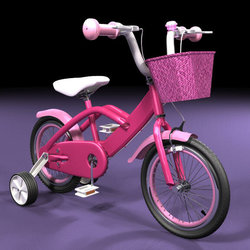 Prop Modeling kid bike Maya 2015