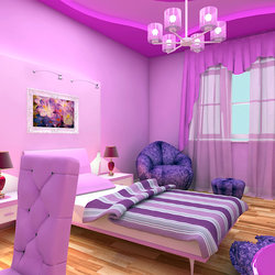 Girl bed room
