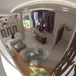 Interior design for a restaurant