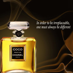 Coco chanel ads