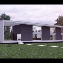 Exterior - Modern Villa