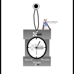 ساعة من تصميمي،  بروجيكت تصميم هوية شركة ما