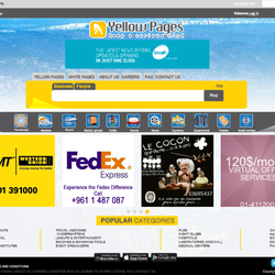 Yellow page Website