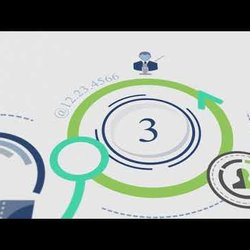 Infographic video motion