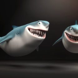 Cartoon Shark