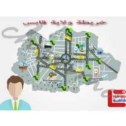 خريطة قابس