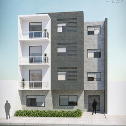 عمارة سكنية (نموذجين)