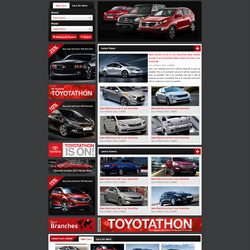 Advantage Auto website