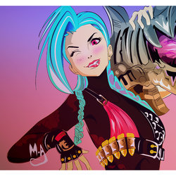 (jinx ( illustration