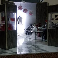 Exhibition design for wedding(Batool for weddings)