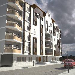 تصميم عمارة سكنية