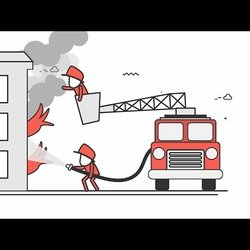Motion Graphics For Fire Direct Co. موشن جرافيك