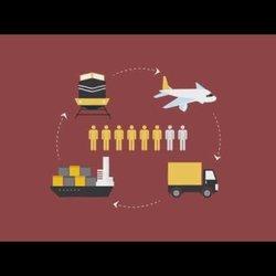 موشن جرافيك لمشروع النقل الثقيل