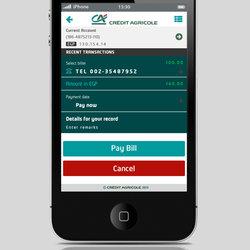Credit Agricol -mob-app