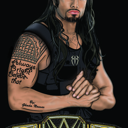Roman Reigns By Always Bright