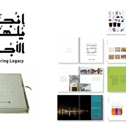 QAPCO 30th year Commemorative Book Design