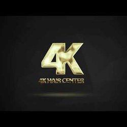 logo motion 4K HAIR CENTER  2