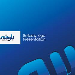 Balloshy logo presentation