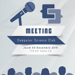 Club Meeting Flyer