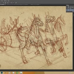Horse and cart Project Game Pharaonic 1-2