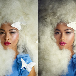 beauty and compositon retouch
