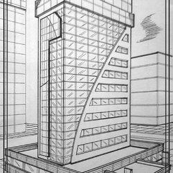رسومات هندسية لادارات ومراكز مالية