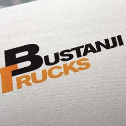 Bustanji Trucks Logo & Identity