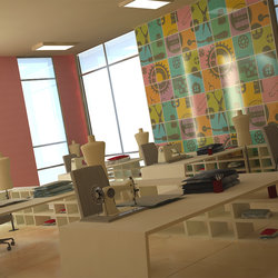 (Graduation project :Interior design ( House Fashion