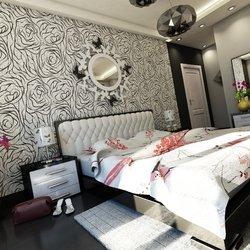 Black & white Bedroom Interior Design