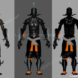 2d Sketches - Character Design