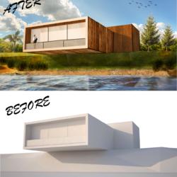الإظهار المعماري