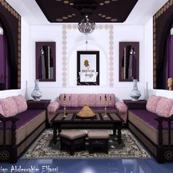 Morocain Living room