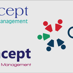 Concept For project management Logos