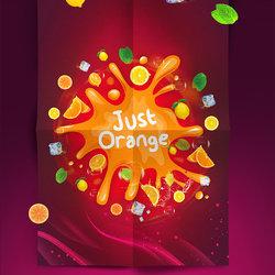 Just Orange Menu