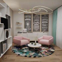 غرفة معيشة عصرية أنيقة