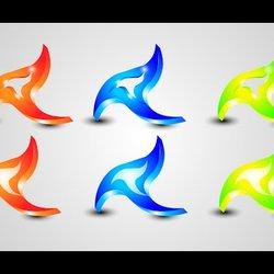 2 - تصميم شعار بسيط بتقنية 3D