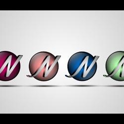 تصميم شعار بتقنية 3D باستخدام الحرف N
