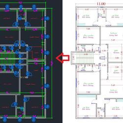 اقوم برسم مخططات معمارية باستخدام اوتوكاد بمنتهي الدقة