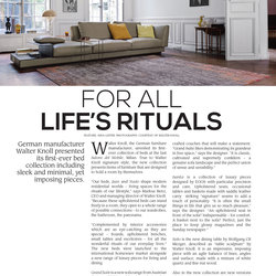 Walter Knoll   Trendesign Magazine March Issue.52