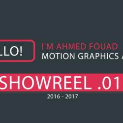 Showreel 01 2017