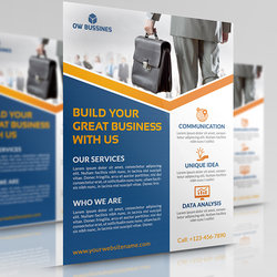 Corporate Business Flyer Template Vol.15