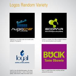 polish random logos