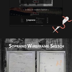 Soprano Website Ui Design & Branding