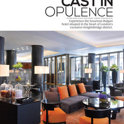 Bulgari Hotel | Trendesign Magazine March Issue.52