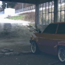 Datsun 620 ( 3D Lowpoly Model)