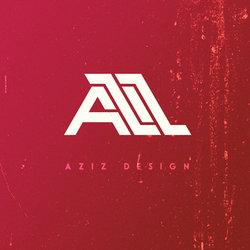 """تصميم شعار """"AZIZ"""""""